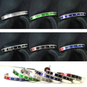 Wholesale Beichong Unisex l Stainless Steel Watch Classic Speedometer Bracelet Titanium Lovers Dial valentine s day Speedometer Bangles