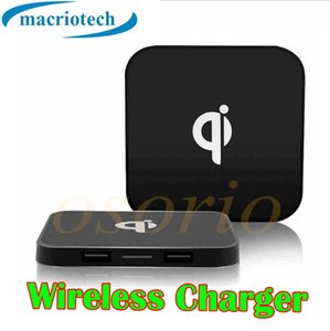 Wholesale Factory Price Universal Qi Wireless Charger Mobile Phone Power Charging Pad kit For iPhone X iPhone and for Samsung with Retail Box