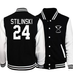 Wholesale Spring Hot Men Coat Wolf Teen Stilinski Baseball Jackets Men Hoodies The Flash S T A R Labs Star Jacket Tracksuit