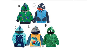 Boys Kids Dinosaur Hoodies Boy Dinosaur Clothing Jackets Coats Children Autumn Hoodies Boy Baby clothes Hoodies KM 001