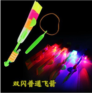 Wholesale fairy toys fly for sale - Group buy Flying arrow flying fairy slingshot catapult light outdoor flash children creative hot toys