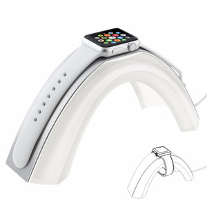 Wholesale Luxury Rainbow Bridge Charging Stand Bracket for iWatch New Aluminum Alloy Arc Dock Station Charging Cradle Holder for Smart Watch