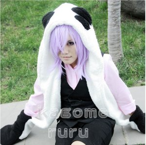 Wholesale New Un Go Inga Brack Cosplay Costume Panda Plush Hat with Gloves Plush Tail