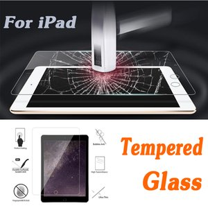 Wholesale Tempered Glass Screen Protector Protective Clear Film Guard H Hardness Explosion proof For iPad Mini iPad Air Pro