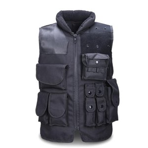 Wholesale Men s Tactical Vest Army Hunting Molle Airsoft Vest Outdoor Body Armor Swat Combat Painball Black Vest For Men