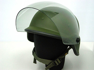 Wholesale 2 colors Airsoft Tactical Army SWAT M88 Helmet USMC Shooting Classic Protective PASGT Helmet Black OD with Clear Visor