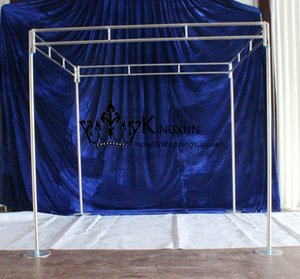 Wholesale Hot Sale Square Shape Wedding Backdrop Stand Stainless steel Backdrop Paipe Stent