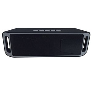 Wholesale 2017 New SC Mini Portable Bluetooth Speakers Wireless Smart Hands free Speaker Big Power Subwoofer Support TF and USB FM Radio