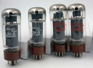 Specials Wholesale New Headphon Amplifier Accessories Dawn EL34B Vacuum Tube 4PCS   LOTS substitution 6p3p 5881 6550 Free shipping Russia