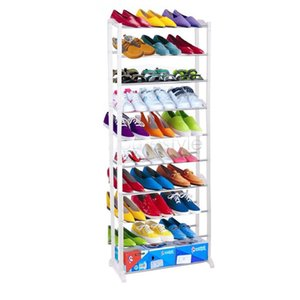 Wholesale 1pc Cheap Modern Layer Shoe Rack Shoe Shelf Shoe Cabinet Easy Installation Stand For Shoes Shelf For Books US02