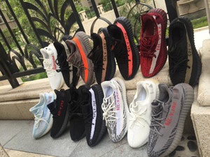 Wholesale Hhyperspace true from CLAY BUTTER SESAME CREAM ZEBRA BELUGA INFANT static Reflective BLUE TINT FROZEN YELLOW men women running shoes