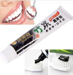 Wholesale best toothpastes for sale - Group buy Newest Best toothpaste charcoal black toothpaste bamboo charcoal toothpaste oral hygiene tooth paste
