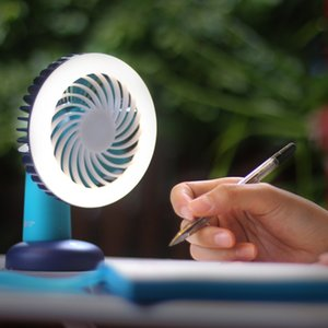 Stylepie Pocket Monster USB fan light Portable Desk Fan with LED Night light & adjusted brightness LED Lamp handheld Silent Cooling fan