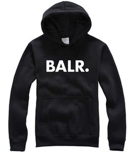 Wholesale 2017 Terry BALR Casual Unisex Hoodies Sweatshirt Cool Hip Pop Pullover Mens Sportwear Coat Jogger Tracksuit Fashion