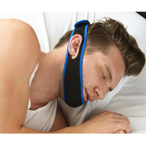 Wholesale stop snore resale online - Anti Snore Chin Strap Care Sleep Stop Snoring Belt Chin Jaw Supporter Apnea Belt For Men Women Sleeping Products