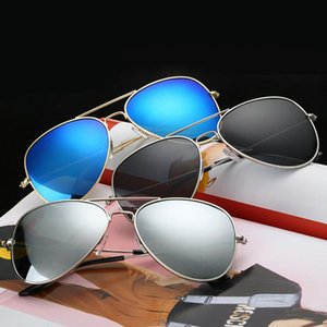 Wholesale High quality Classic Reflective Color Polarized Sunglasses Retro Men Colorful Sunglasses Toad Mirror Sunglasses