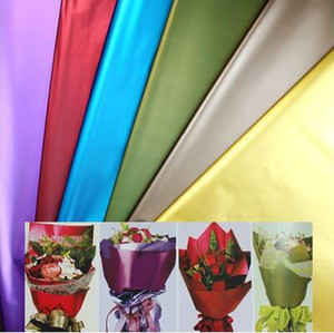 Wholesale wrapping paper free shipping resale online - christmas gift wrap one cm The new solid color platinum paper High grade flowers wrapping paper FD07