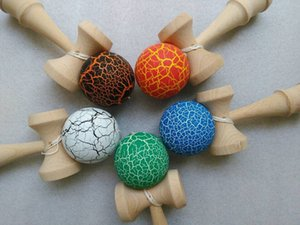 Wholesale 100pcs cm jade sword strings professional japan japanese toy crack KENDAMA ball Leisure Sports wooden game toy