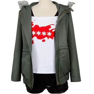 Wholesale futaba resale online - Persona Futaba Sakura Cosplay Costume A F K Logo Casual Coat Jacket Shirt Tee Suit Dress Up