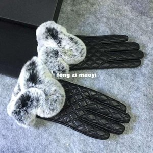 Wholesale 2016 new autumn winter touch screen gloves natural sheep skin thickening soft and genuine leather