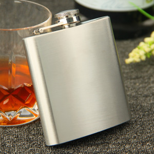 Wholesale Passed FDA Test stainless steel oz oz oz oz oz oz oz oz oz stainless steel hip flask with each retail black box no scratch