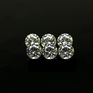 Cheap Price Small Size 0.7mm-1.6mm 3A Quality Simulated Diamond White Round Shape Cubic Zirconia Loose CZ Stones For Jewelry Making 1000pcs on Sale