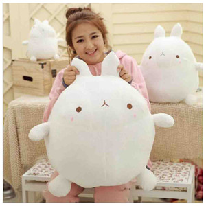 Wholesale Big size Cute Molang Rabbit Plush Toy Stuffed Rabbit Molang Doll Kids Toy Girl s Christmas Gifts