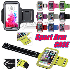 Wholesale For Iphone Pro Max Waterproof Sports Running Case Armband Running bag Workout Holder Pounch Phone Case for Galaxy Note Plus Arm