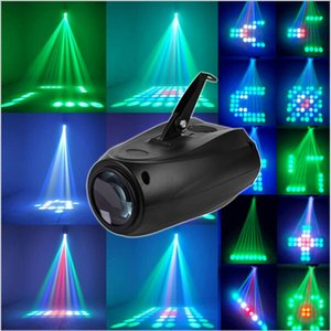 Wholesale New Arrival Sound actived Led RGBW Disco Stage Light Magic Pattern Change DJ Lighting Effect for Party Show LED Laser light