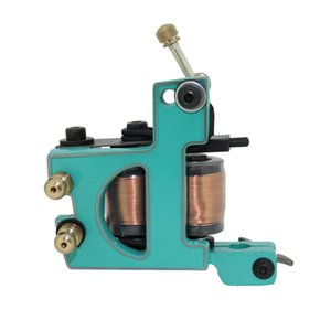 Brand New Profession 10 Wrap Coils Tattoo Machine Liner 4 Colorful Optional Art Tattoo Supply TM3203 on Sale