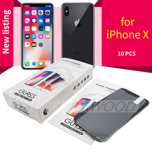 Wholesale Screen Protector for Iphone Pro Max XS Max Iphone S Plus Samsung S7 A30 A50 A70 A80 Tempered Glass in Paper Package