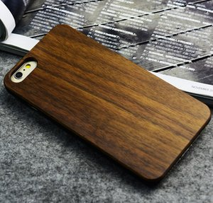 Wholesale Wooden Crafts Custom Carving Patterns Wood Phone Case for iPhone s Mobile Phone Cover Case