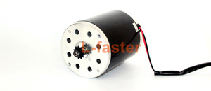 Wholesale 24V36V48V W Brush DC Motor Without Foot Bracket Electric Scooter High Speed Engine Use H Sprocket Electric Motorcycle Engine