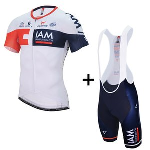 Mens IAM GOLD Team Cycling jersey 2019 Maillot ciclismo, Road Bike clothes, bicycle Cycling Clothing D11