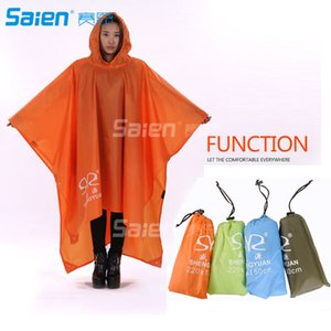 Outdoor Adults Waterproof Lightweight Rain Poncho with Hood Perfect to Keep in Emergency Kit, Backpack, Home, Office, Car