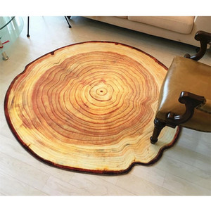 3D Growth Ring Pattern Bathroom Carpet Floor Mat Anti-Slip Bath Mats Living Room Carpets Home Decor Large Bathroom Rugs tapetes Kitchen Rugs