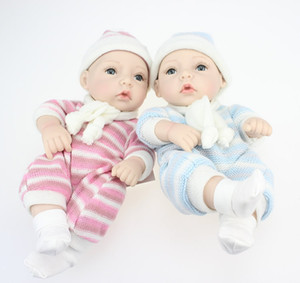 Wholesale Fashion Full Silicone Vinyl Reborn Baby Doll Real Life Fashion Doll Toy for Baby Gift Birthday and Christmas