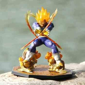 Wholesale Dragon Ball Z Super Saiyan Vegeta Battle State Final Flash PVC Action Figure Collectible Model toy cm figures hot hasbro toys
