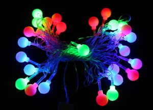 Wholesale 450cm Holiday Led lighting waterproof colorful lighting strings bells Snowflake star shape lights party festive Christmas Decorative Lights