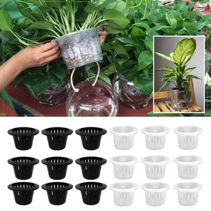 Wholesale 25 Plants Mesh Net Pot Cup Basket for Hydroponics Planting Grow Aquaculture inch Outside Diameter Garden Supply
