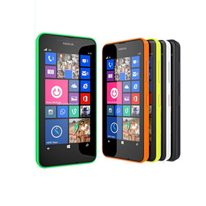 Wholesale 100 Original unlocked Nokia Lumia Unlocked phones M G quad core MP camera Inch Windows OS