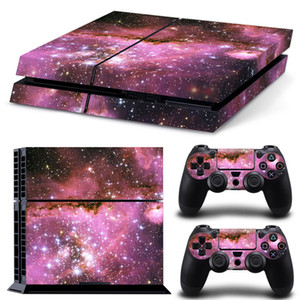 PS4 Skin Decal Stickers Brilliant Star for PlayStation 4 Console System and PS4 Wireless Dualshock Controller by Golden
