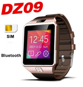 Wholesale DZ09 Smart Watch Bracelet inch Low Price SmartWatches DZ09 Support SIM Card TF card For cellphone With Camera and good battery