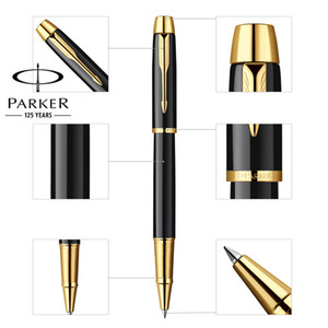 Full Metal PARKER IM roller ball pen Business Executive rollerball Pens as Luxury gift Office Writing stationery on Sale