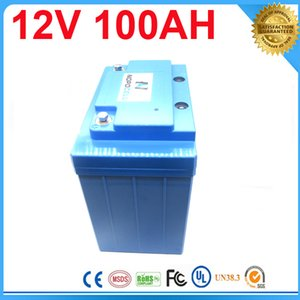 2016 China Wholesale factory price 12v 100ah rechargeable battery for LED light,panel,strip system electric bike battery