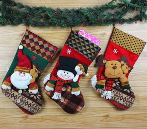 Wholesale Santa Claus socks Christmas snowman decorative socks Christmas boots socks