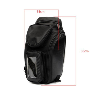 Wholesale oil saddle resale online - High Quality General Bag Magnetic Motorcycle Fuel Package Fuel Oil Tank Tank Saddle Bag Black Xkuio