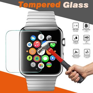 Wholesale Tempered Glass H Premium Explosion Proof Guard Anti Scratch Film Screen Protector For Apple Watch Series mm mm mm mm Sport