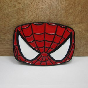 Wholesale BuckleHome Spiderman belt buckle fashion belt buckle with black coating FP-03038 free shipping