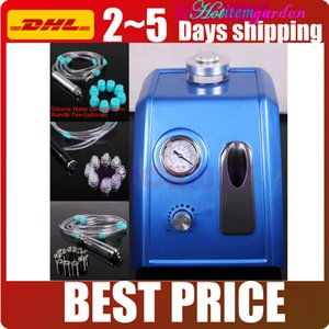 Wholesale Mini in1 Blue Hydradermabrasion Peeling Vacuum Spray Microdermabrasion Dermabrasion Acne Age Spots Scars Reduce Spa Salon Beauty Machine